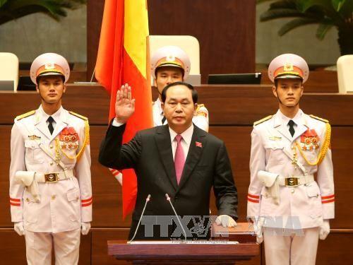 Ông Trần Đại Quang tái đắc cử Chủ tịch nước - Ảnh 1