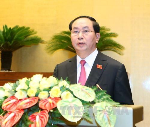 Ông Trần Đại Quang tái đắc cử Chủ tịch nước - Ảnh 2