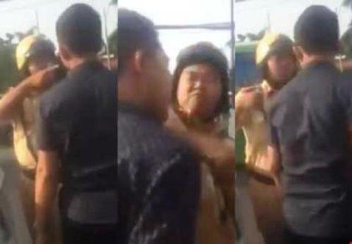 """CSGT trong clip """"đánh người vi phạm ở Sài Gòn"""" nói gì? - Ảnh 1"""