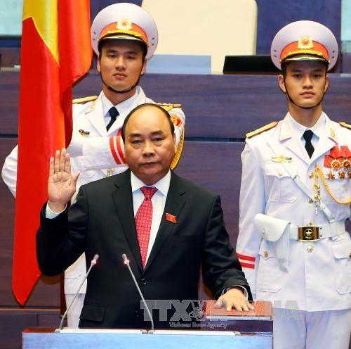 Thủ tướng Nguyễn Xuân Phúc tuyên thệ nhậm chức - Ảnh 1