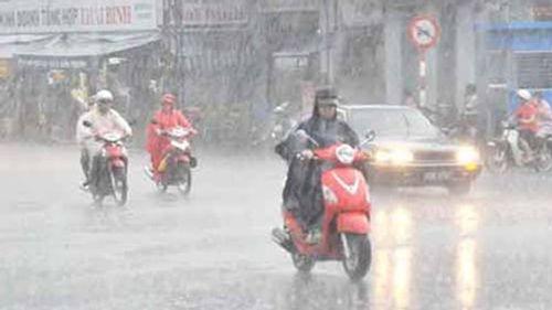 Dự báo thời tiết ngày mai 28/7: Bão số 1 đổ bộ Thái Bình - Ảnh 1