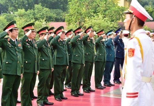 Lãnh đạo Đảng, Nhà nước dâng hương tưởng niệm các anh hùng, liệt sĩ - Ảnh 3