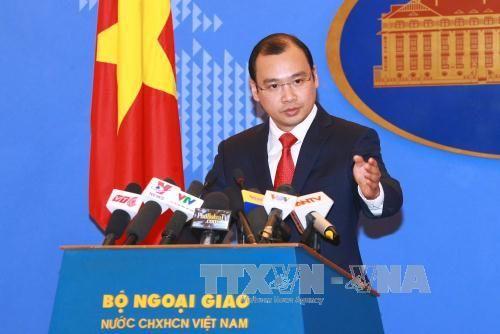 Phản đối quan chức Đài Loan ra đảo Ba Bình - Ảnh 1