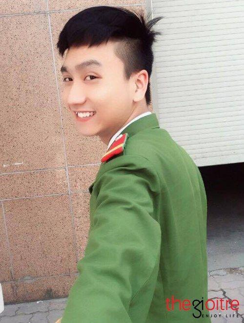 Chàng hot boy cảnh sát đốn tim dân mạng với clip gây sốt - Ảnh 5