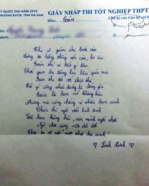 Bài thơ viết vội tự nhắc nhủ mình cố gắng của sĩ tử mùa thi - Ảnh 1