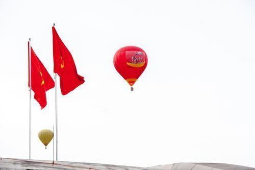 Ngắm cao nguyên Mộc Châu từ Khinh khí cầu Vietjet - Ảnh 1