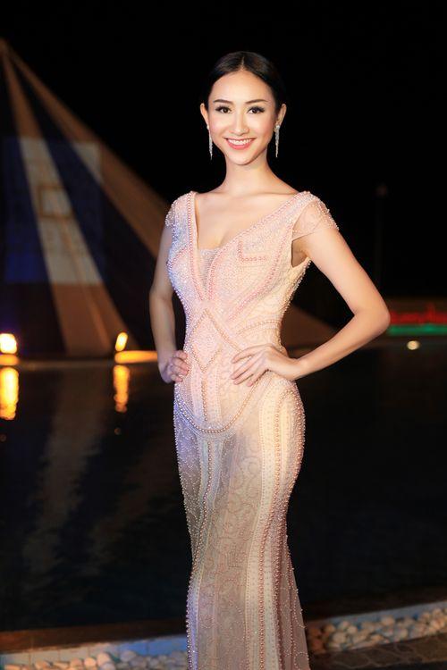 Á hậu Hà Thu đại diện Việt Nam tham gia Hoa hậu liên lục địa  - Ảnh 2