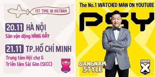 Show diễn có PSY và Sơn Tùng biểu diễn bị hủy vì ế vé - Ảnh 1