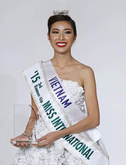 Hành trình đến ngôi vị Á hậu 3 Hoa hậu Quốc tế 2015 của Thúy Vân  - Ảnh 1