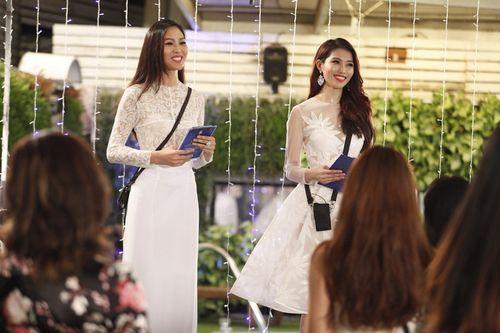 Chế Nguyễn Quỳnh Châu bị Diệu Ngọc tố xấu tính tại Hoa khôi áo dài - Ảnh 1