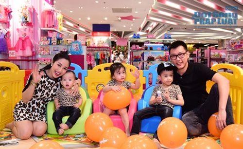 Kỳ nghỉ lễ của vợ chồng Ốc Thanh Vân và 3 nhóc tì - Ảnh 2
