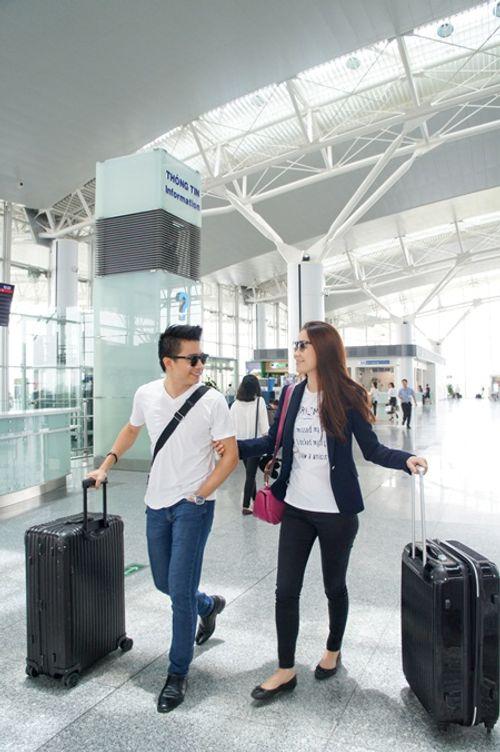 Vợ chồng Dương Thuỳ Linh vẫn ngọt ngào sau 6 năm kết hôn - Ảnh 1