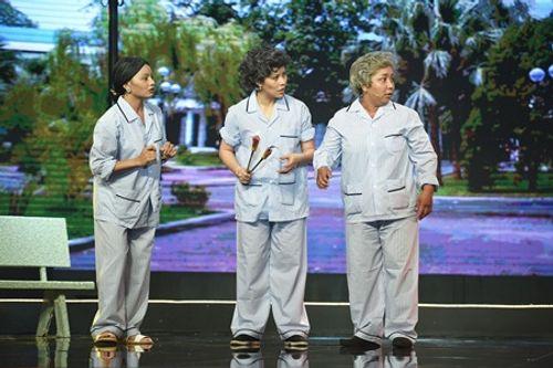Làng hài mở hội tập 13: Trấn Thành, Việt Hương rớt nước mắt vì đội Tỷ Muội  - Ảnh 1