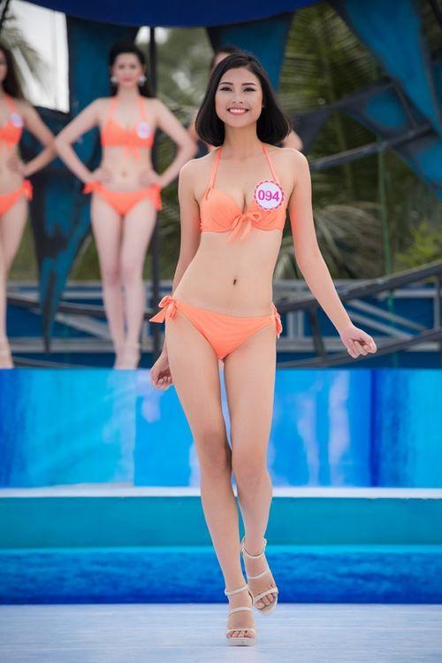 """Ngắm nhan sắc """"bản sao"""" của Tăng Thanh Hà tại cuộc thi Hoa hậu Việt Nam 2016 - Ảnh 2"""