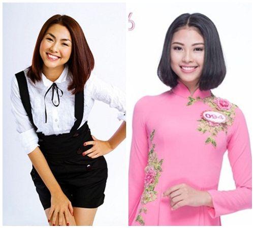 """Ngắm nhan sắc """"bản sao"""" của Tăng Thanh Hà tại cuộc thi Hoa hậu Việt Nam 2016 - Ảnh 1"""