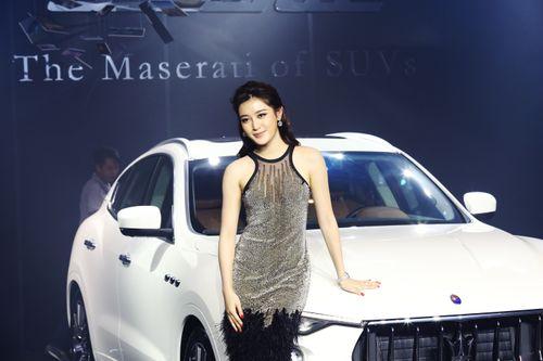 Á hậu Huyền My sang trọng, quý phái bên chiếc SUV hạng sang Maserati Levante - Ảnh 3