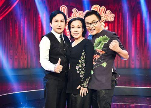 Việt Hương bị Đại Nghĩa kéo lê trên sân khấu vì sợ ma - Ảnh 3