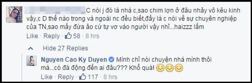 """MC Kỳ Duyên lại gây tranh cãi khi chia sẻ về """"ngôi sao"""" - Ảnh 2"""