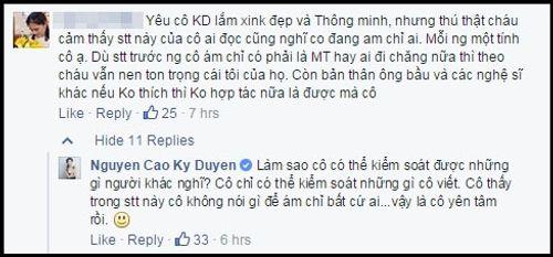 """MC Kỳ Duyên lại gây tranh cãi khi chia sẻ về """"ngôi sao"""" - Ảnh 3"""