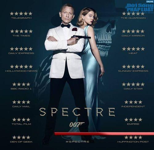"""""""Spectre"""": Tượng đài mới của loạt phim về 007 - Ảnh 1"""