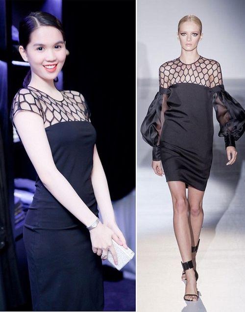 Kho váy nhái 'đồ sộ' của Ngọc Trinh - Ảnh 3
