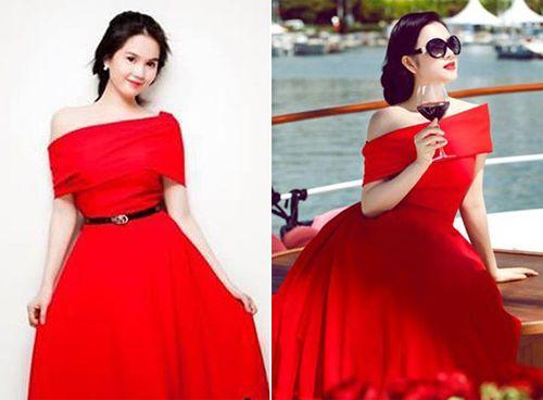 Kho váy nhái 'đồ sộ' của Ngọc Trinh - Ảnh 5