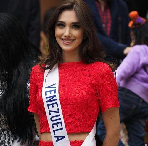 Vẻ đẹp tuyệt sắc của tân Hoa hậu Quốc tế 2015 Edymar Martinez - Ảnh 7