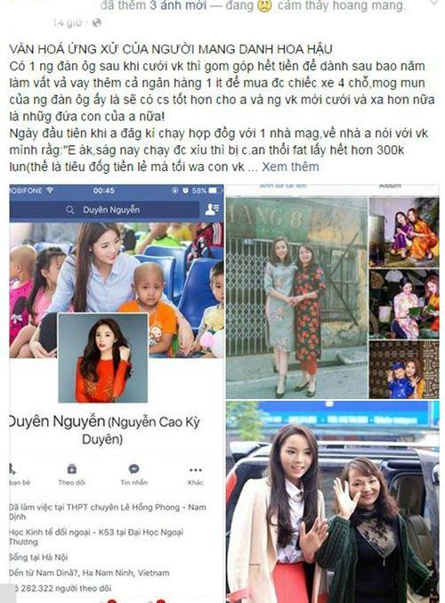 """Mẹ Hoa hậu Kỳ Duyên lên tiếng sau khi bị vợ tài xế taxi """"tố"""" con gái văng tục - Ảnh 2"""