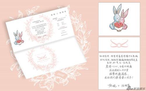"""""""Giải mã"""" thiệp cưới in hình thỏ của cặp đôi Hiểu - Hy - Ảnh 1"""