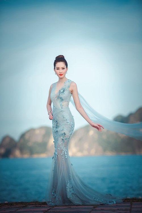 Nhan sắc gây xao xuyến con tim của Hoa hậu Đặng Thu Thảo - Ảnh 1