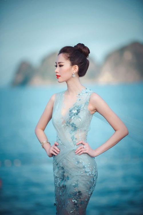 Nhan sắc gây xao xuyến con tim của Hoa hậu Đặng Thu Thảo - Ảnh 2