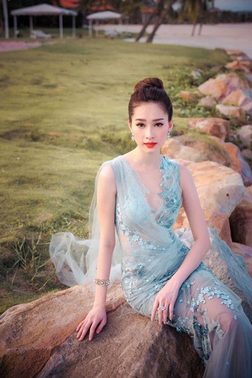 Nhan sắc gây xao xuyến con tim của Hoa hậu Đặng Thu Thảo - Ảnh 3