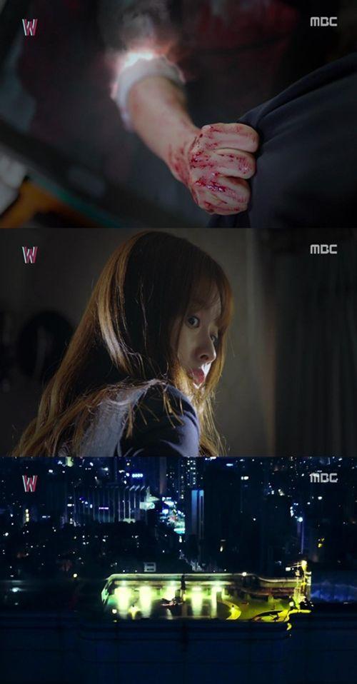 """""""W - Hai thế giới"""" tập 1: Lee Jong Suk đưa tay kéo Han Hyo Joo vào truyện tranh - Ảnh 6"""