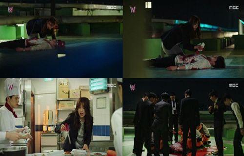 """""""W - Hai thế giới"""" tập 1: Lee Jong Suk đưa tay kéo Han Hyo Joo vào truyện tranh - Ảnh 7"""