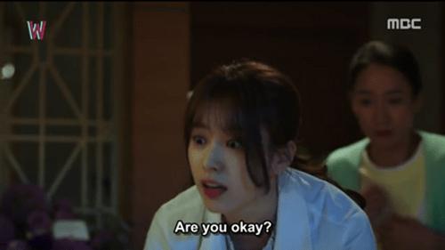 """""""W - Hai thế giới"""" tập 2: Han Hyo Joo bất ngờ tát rồi hôn Lee Jong Suk - Ảnh 2"""