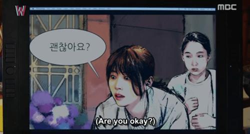"""""""W - Hai thế giới"""" tập 2: Han Hyo Joo bất ngờ tát rồi hôn Lee Jong Suk - Ảnh 3"""