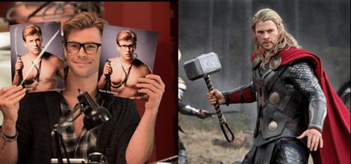 """""""Thần sấm"""" Chris Hemsworth siêu đáng yêu với hình tượng thư ký """"khù khờ"""" - Ảnh 2"""