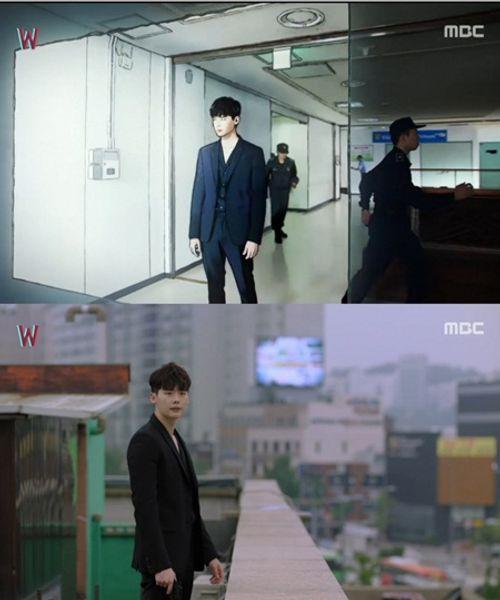 """""""W - Hai thế giới"""" tập 4: Lee Jong Suk bước ra khỏi truyện tranh - Ảnh 11"""