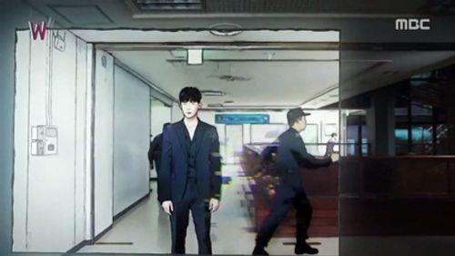 """""""W - Hai thế giới"""" tập 4: Lee Jong Suk bước ra khỏi truyện tranh - Ảnh 7"""