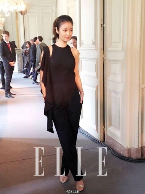Lâm Tâm Như khoe gu thời trang cá tính tại Paris Fashion Week - Ảnh 4