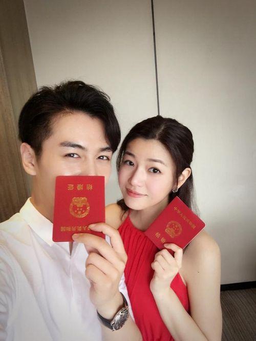 Trần Hiểu - Trần Nghiên Hy đăng ký kết hôn, công bố mang thai - Ảnh 2