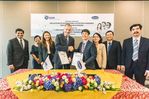 Vinamilk ký kết hợp tác chiến lược với tập đoàn dinh dưỡng hàng đầu thế giới DSM - Ảnh 3