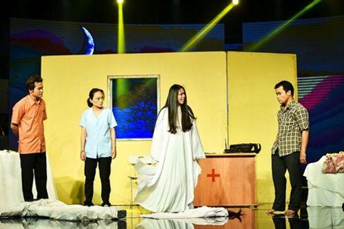 Làng hài mở hội tập 21: Đồng Dao khiến khán giả thót tim với cải lương kinh dị - Ảnh 5