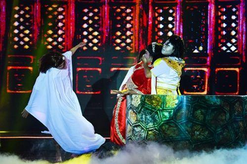 Làng hài mở hội tập 21: Đồng Dao khiến khán giả thót tim với cải lương kinh dị - Ảnh 9