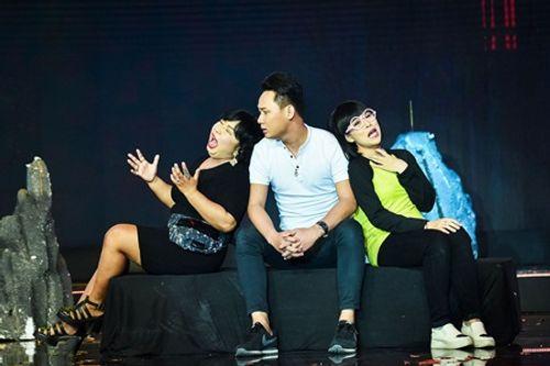 Làng hài mở hội tập 21: Đồng Dao khiến khán giả thót tim với cải lương kinh dị - Ảnh 2
