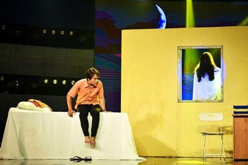 Làng hài mở hội tập 21: Đồng Dao khiến khán giả thót tim với cải lương kinh dị - Ảnh 4