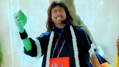 Hết bắt Pokemon, Bảo Chung chuyển sang múa võ kiếm hiệp - Ảnh 3