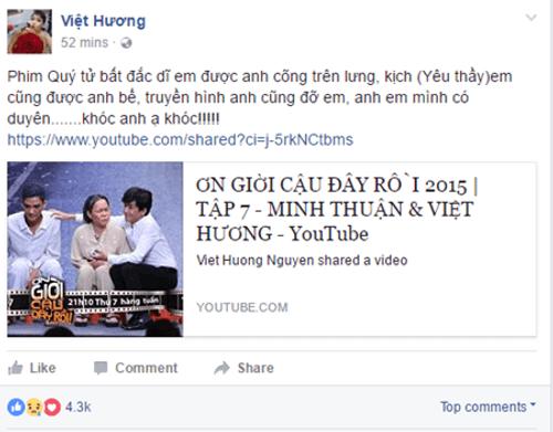 Nghệ sĩ Việt tiếc thương sự ra đi của ca sĩ Minh Thuận - Ảnh 3