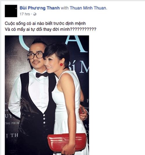 Ca sỹ Minh Thuận bị ung thư, hiện đang tai biến - Ảnh 3