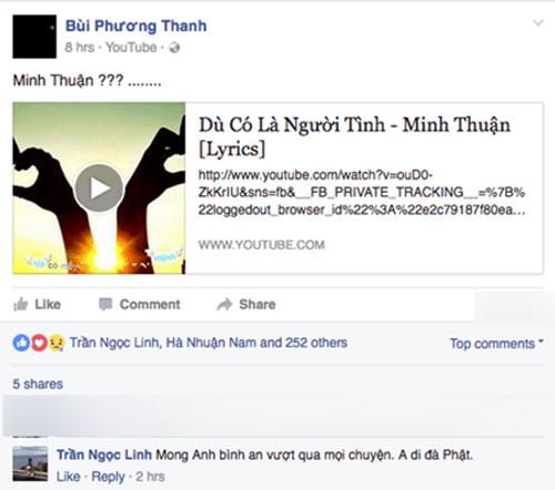 Ca sỹ Minh Thuận bị ung thư, hiện đang tai biến - Ảnh 4
